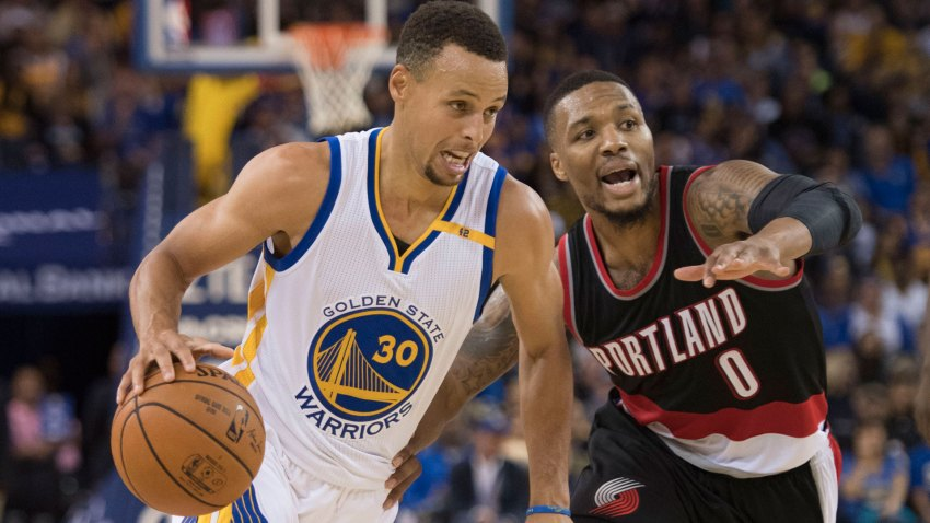 [CSNBY] NBA Gameday: Eyes on guards when Warriors host Blazers