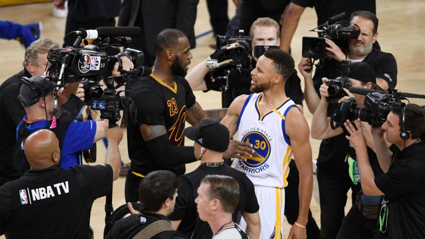 [CSNBY] Top 15 most popular NBA jerseys: Curry still ahead of LeBron