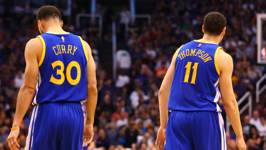 [CSNBY] Warriors taking extra cautious approach with Curry, Thompson