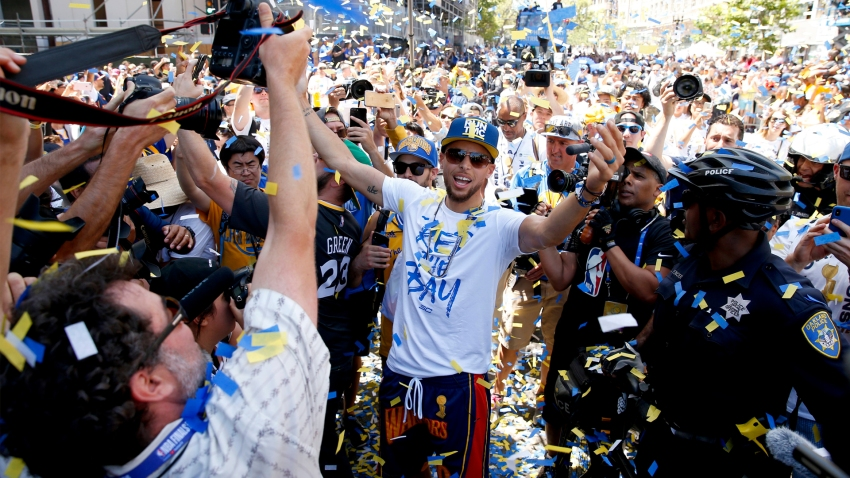 [CSNBY] Steph Curry clears up confusion over party celebrating Oakland
