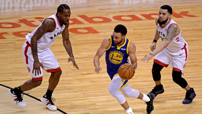 [CSNBY] Steph Curry trolled Raptors with 'box-and-one' hoodie after NBA Finals loss