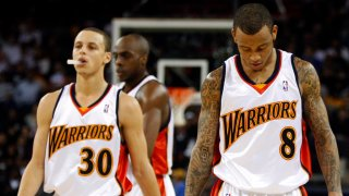 [CSNBY] Why Steph Curry's gesture at Oracle Arena finale touched Monta Ellis