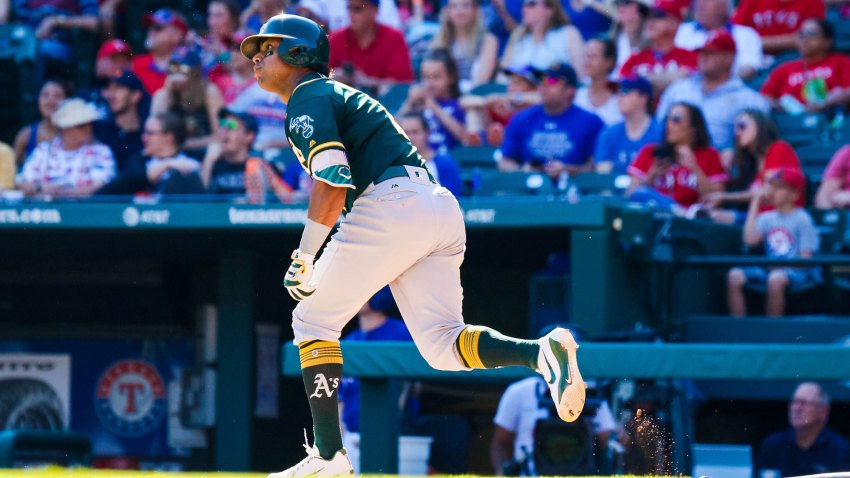 [CSNBY] A's slugger Khris Davis: 'I don't want to label myself a DH'