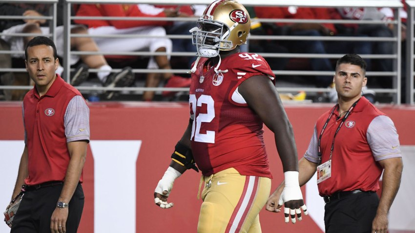 [CSNBY] Injury report: 49ers DL Dial sits out practice with elbow