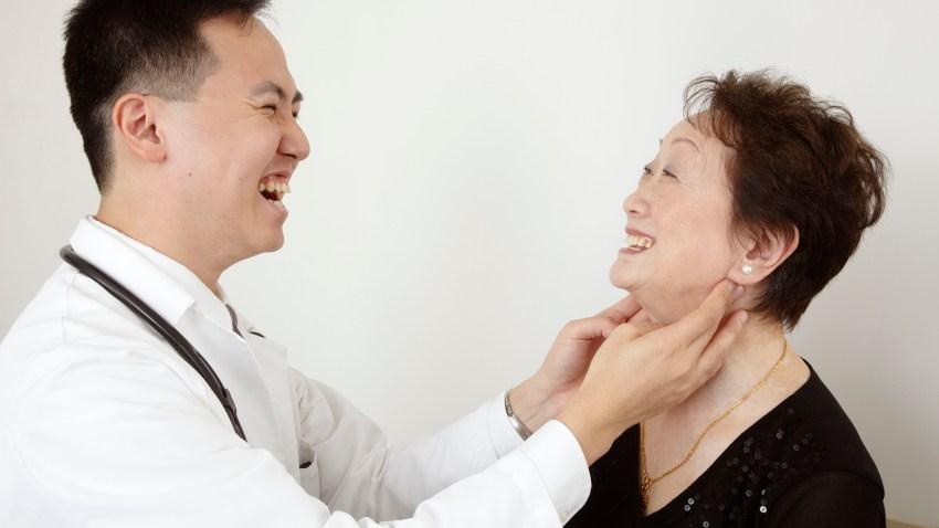 dr lam with elderly patient