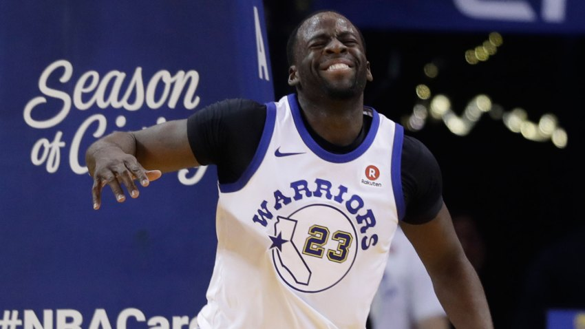 [CSNBY] New injury has Draymond Green questionable for game in Dallas