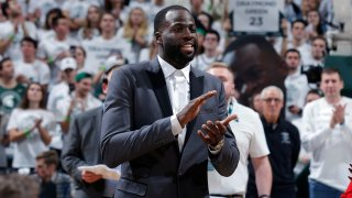 [CSNBY] Draymond Green reflects on journey in Michigan State jersey retirement