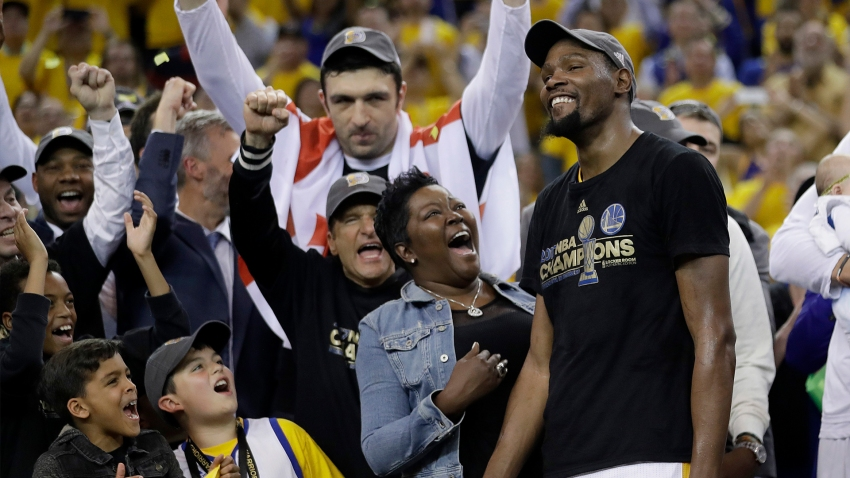 [CSNBY] Kevin Durant calls first title with Warriors life's 'defining moment'