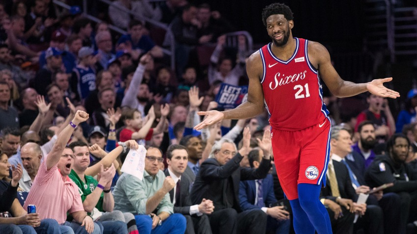 [CSNBY] Joel Embiid takes shot at Warriors after 76ers take 3-1 lead over Nets