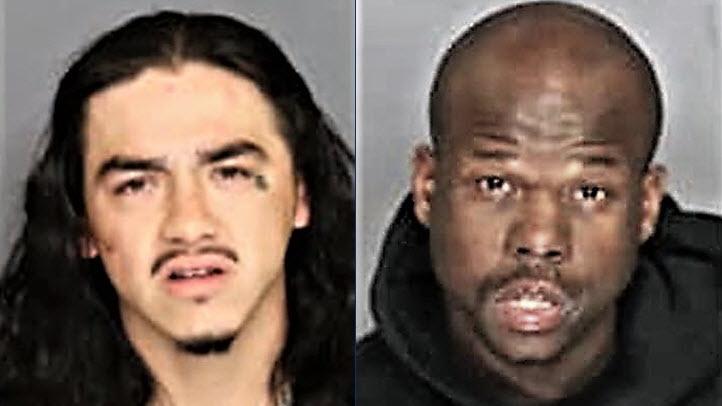 Mug shots of escaped inmates.