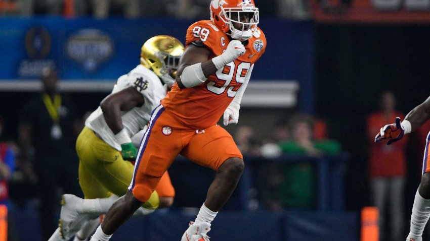 [CSNBY] Clemson NFL draft prospects 49ers, Raiders fans should watch vs Alabama