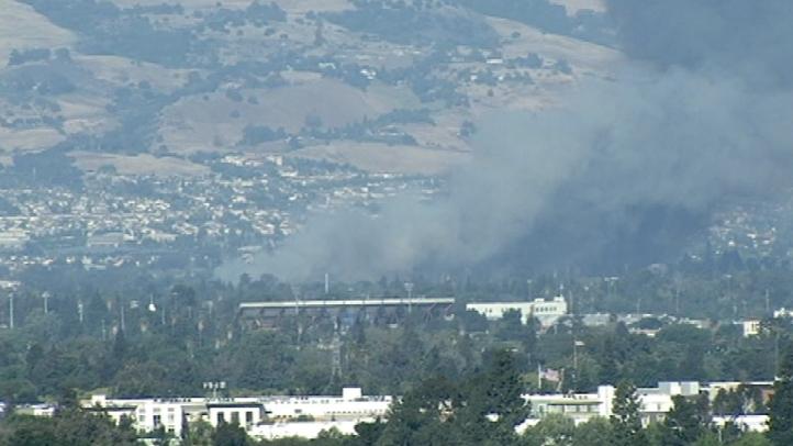 San Jose Grass Fire