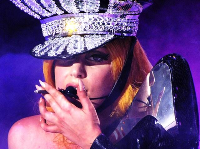 Lady Gaga in concert, Sofia, Bulgaria - 14 Aug 2012