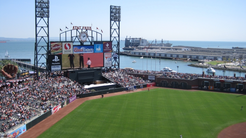 AT&T Park Marks a Decade