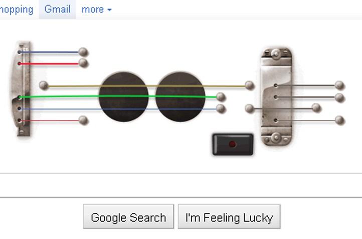 Google Les Paul Doodle
