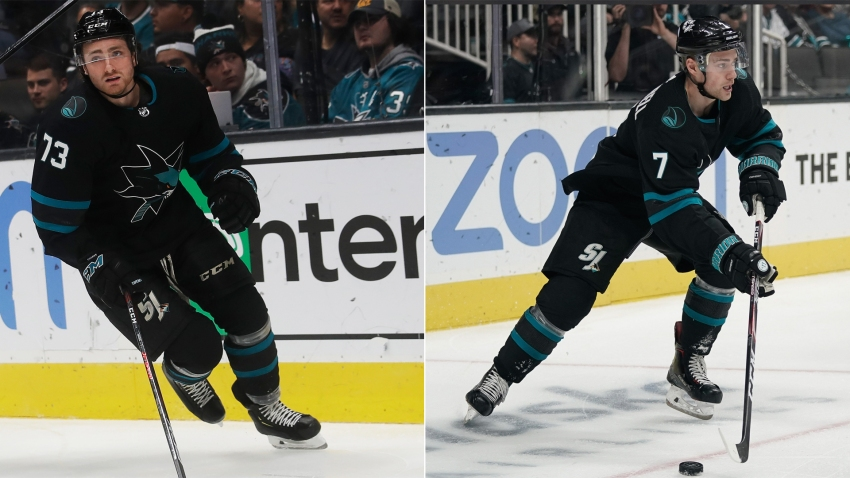 [CSNBY] How Sharks' Dylan Gambrell, Noah Gregor have seized regular roles