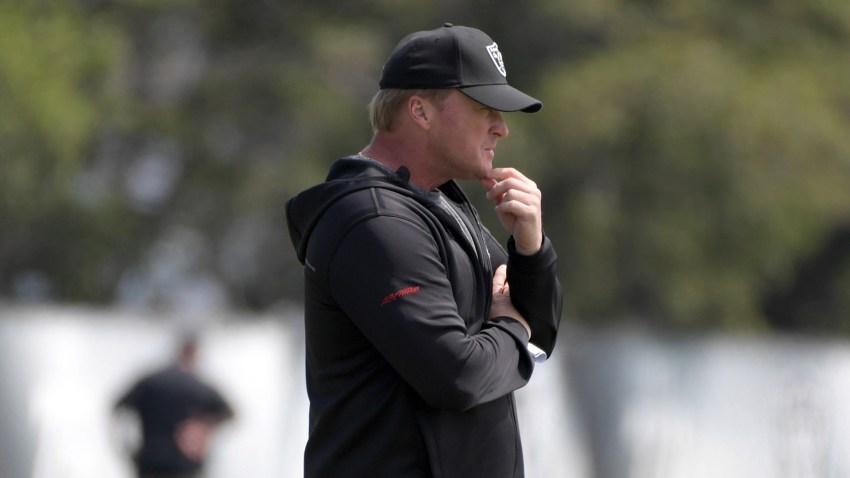 [CSNBY] Jon Gruden, Raiders 'support' Antonio Brown in helmet grievance with NFL