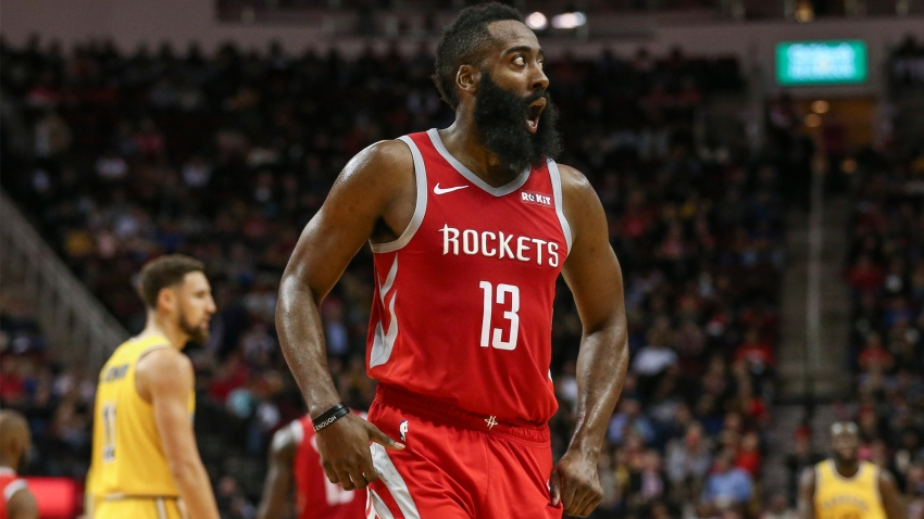 [CSNBY] James Harden makes bold MVP prediction the day before facing Warriors