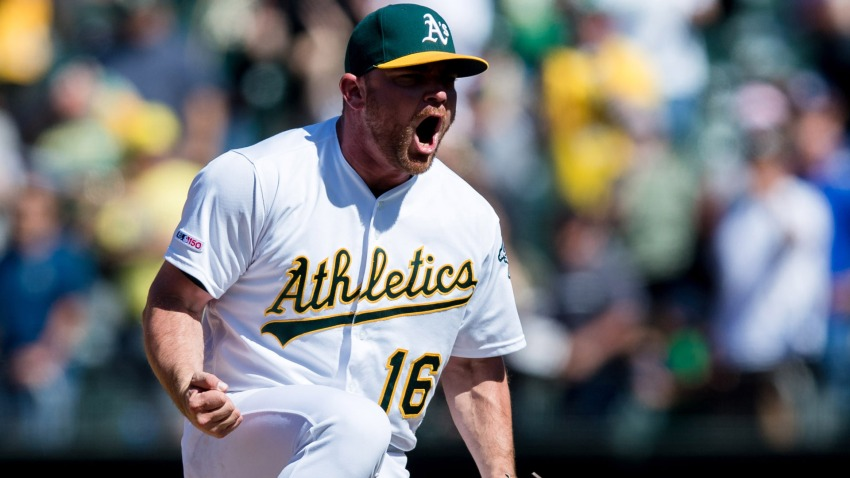 [CSNBY] MLB Players' Weekend: A's release nicknames for their 2019 jerseys