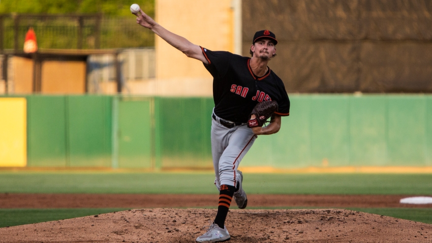 [CSNBY] Giants prospect Sean Hjelle talks challenges of facing Double-A hitters