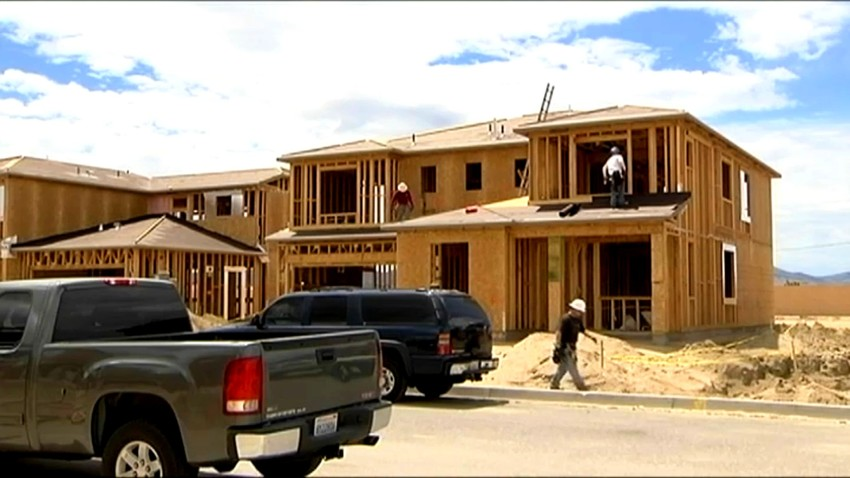 home sales build