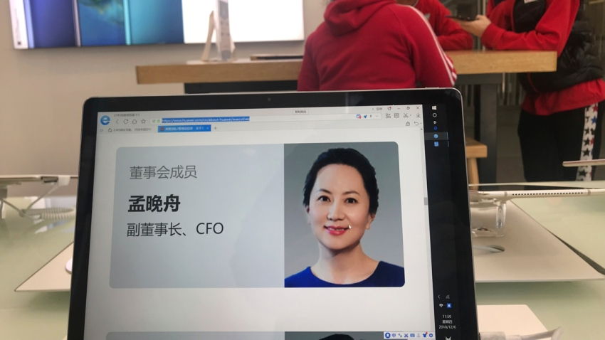 China US Canada Huawei