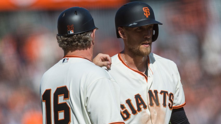 [CSNBY] Giants place Hunter Pence on disabled list