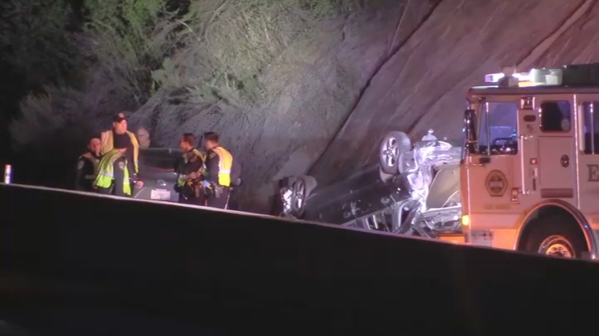 Crash on Highway 17.
