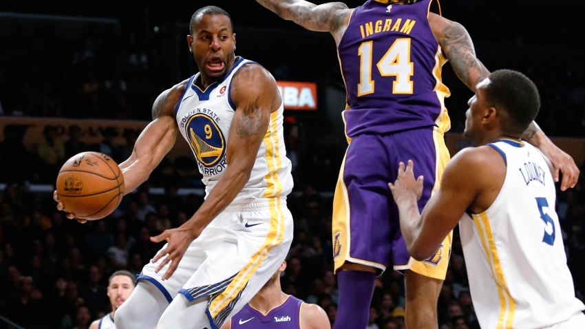 [CSNBY] How Iguodala helped Looney get career on track, 'I finally listened to him...'
