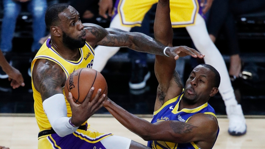 [CSNBY] Andre Iguodala couldn't believe officials missed LeBron James' travel