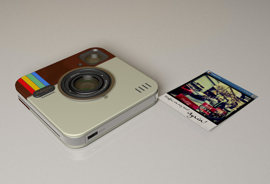 instagram polaroid