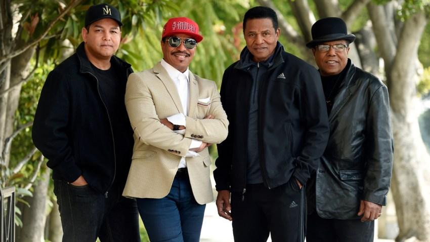 The Jackson Brothers and Taj Jackson Portrait Session