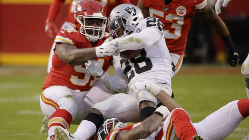 [CSNBY] Raiders report card: Grading offense, defense in disastrous loss to Chiefs