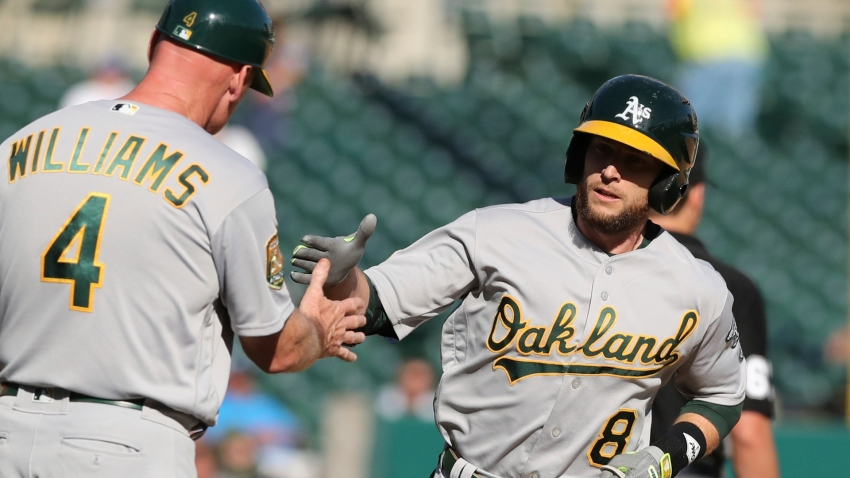 [CSNBY] Lowrie caps off comeback with solo homer, A's beat Tigers