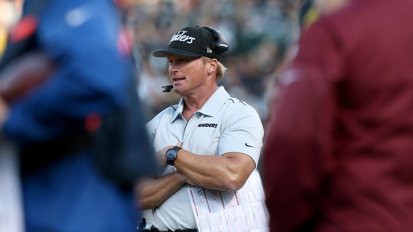 [CSNBY] Why Jon Gruden likens rookie A.J. Cole to past Raiders punting legends