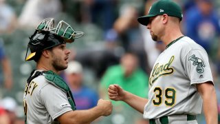 [CSNBY] A's 2020 roster begins to take shape with three players non-tendered