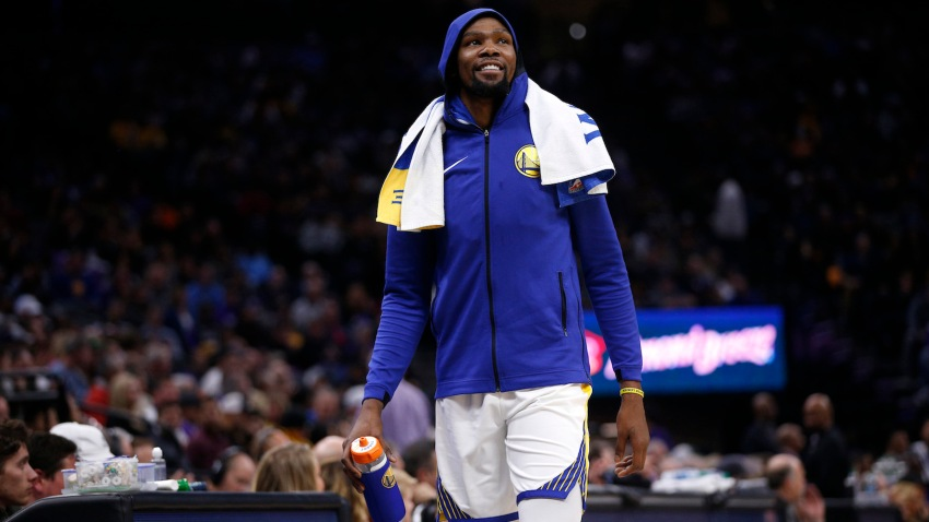[CSNBY] Kevin Durant, Kings PA announcer have fun with 'infectious disease' comment