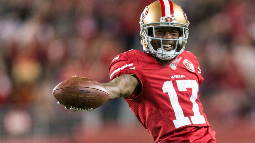 [CSNBY] WR Kerley surprises, WR Smith disappoints as 49ers hit halfway mark