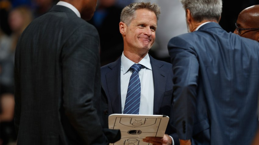 [CSNBY] Steve Kerr named Western Conference Coach of the Month