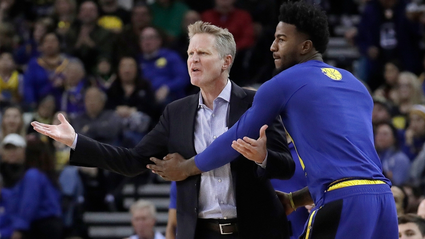 [CSNBY] Steve Kerr in a better place healthwise: 'He's a tough, tough S.O.B.'