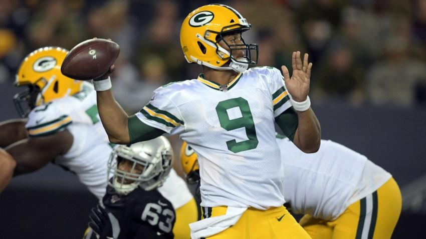 [CSNBY] NFL rumors: Raiders claim former Packers quarterback DeShone Kizer