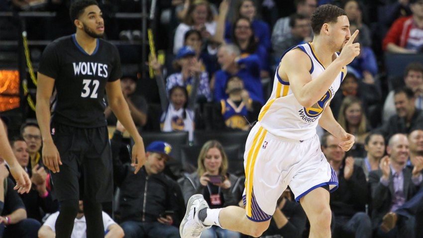 [CSNBY] Warriors run away from T'Wolves, win 12th straight