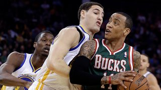 [CSNBY] Why Klay Thompson felt for Monta Ellis when Warriors traded him to Bucks