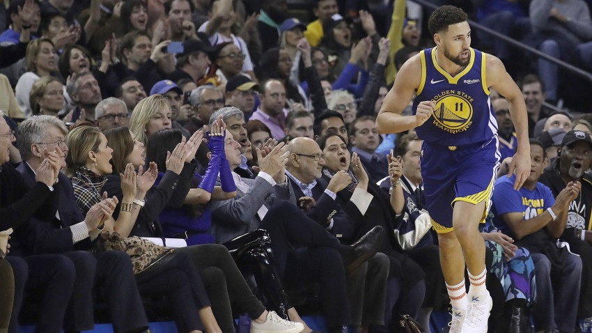 [CSNBY] Klay Thompson apologizes for ripping Warriors fans: 'I love DubNation'