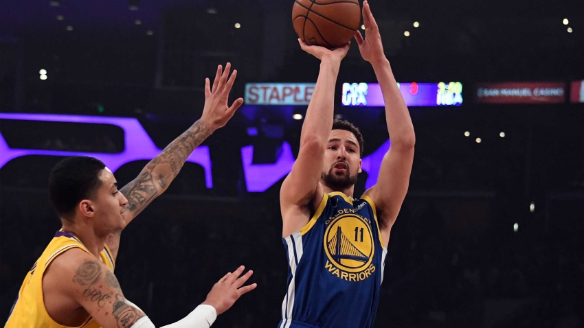 [CSNBY] Warriors Under Review: Klay Thompson gets hot while Bell, Kerr get heated