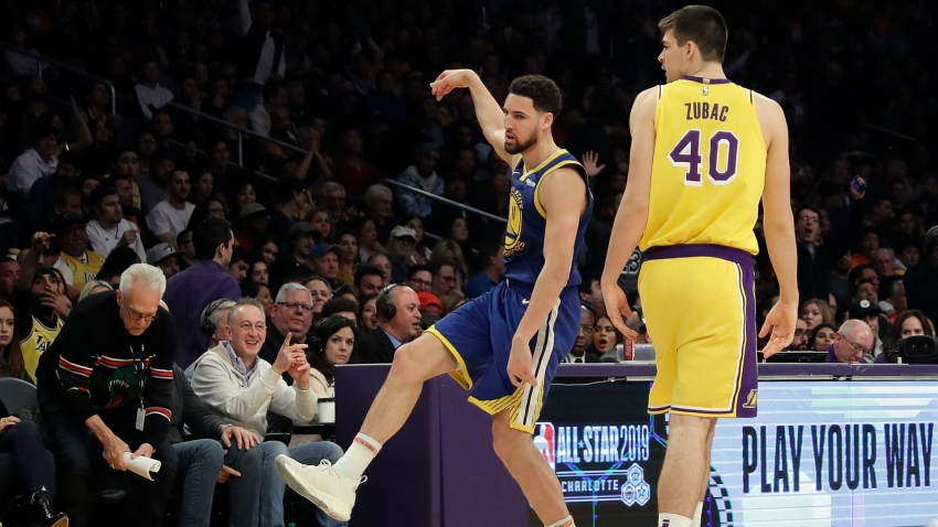 [CSNBY] Klay Thompson recovers from illness, sickens Lakers and their fans