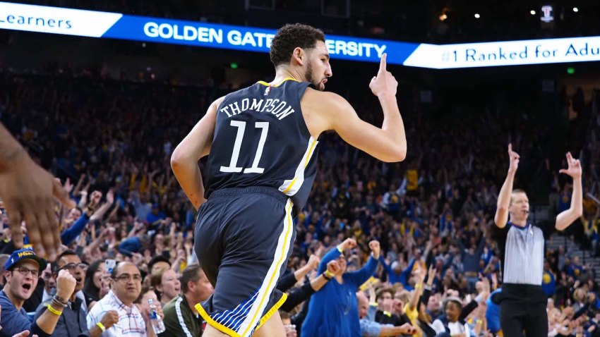 [CSNBY] NBA rumors: Klay Thompson wants to finish career with Warriors