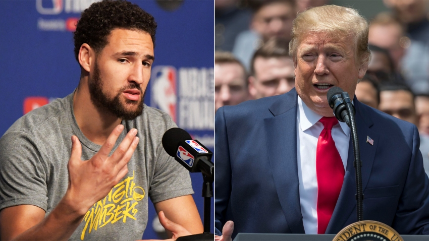 [CSNBY] Klay Thompson rips Trump administration for treatment of Bahamians
