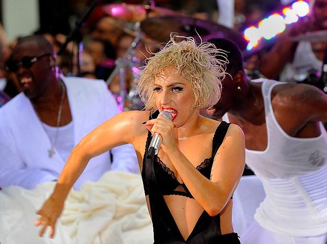 Lady Gaga Rockefeller 2