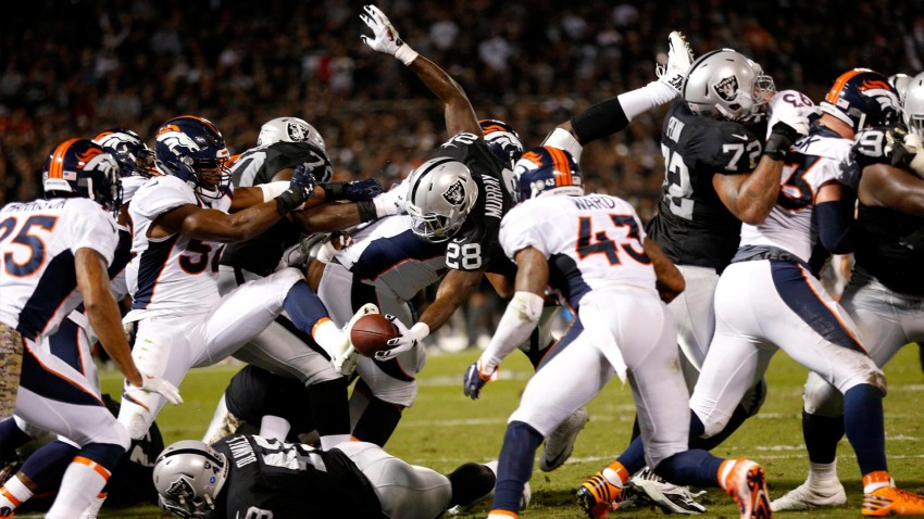 [CSNBY] Raiders OL dominant vs Broncos: 'That's what you call imposing your will'
